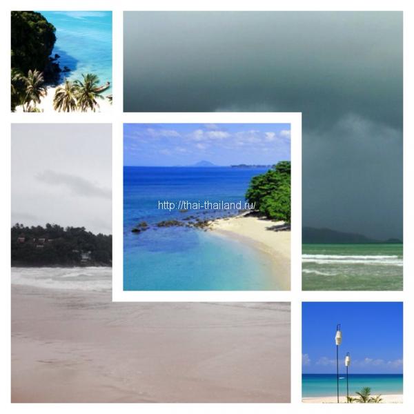 Климат в Тайланде