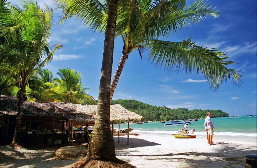 отель в Тайланде со своим пляжем