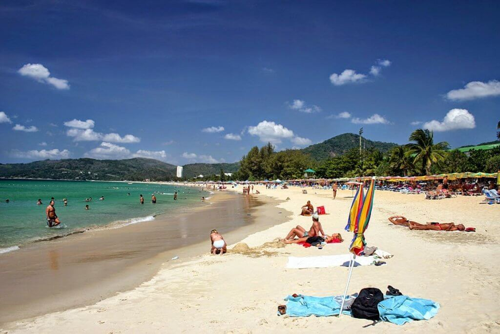 карон пляж.