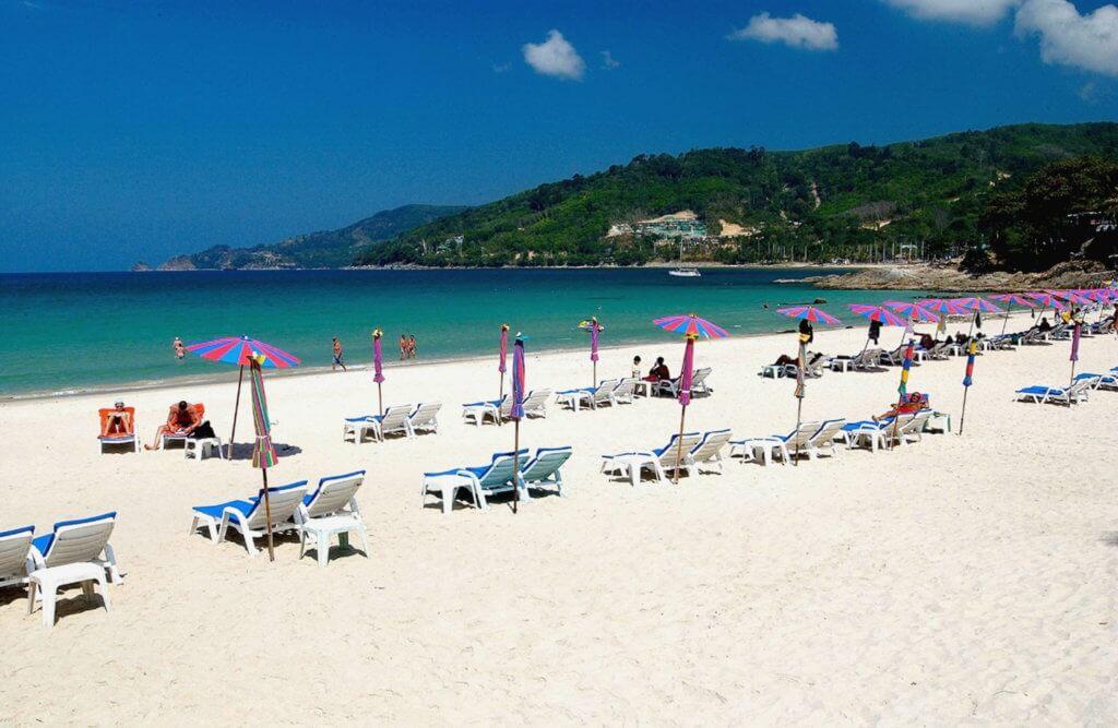 пляж патонг, пхукет
