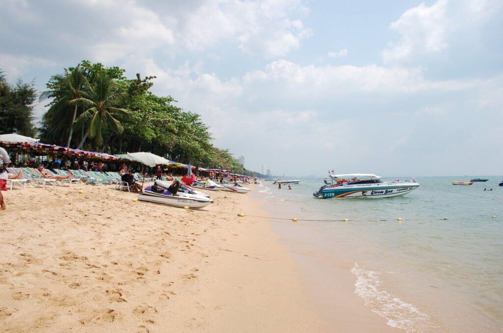 пляж паттайю