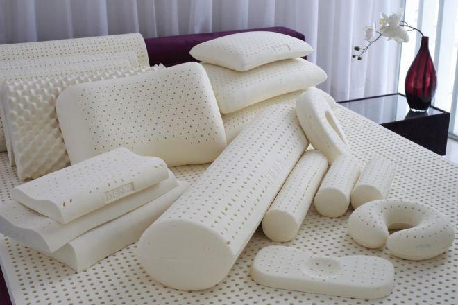 подушки из латекса