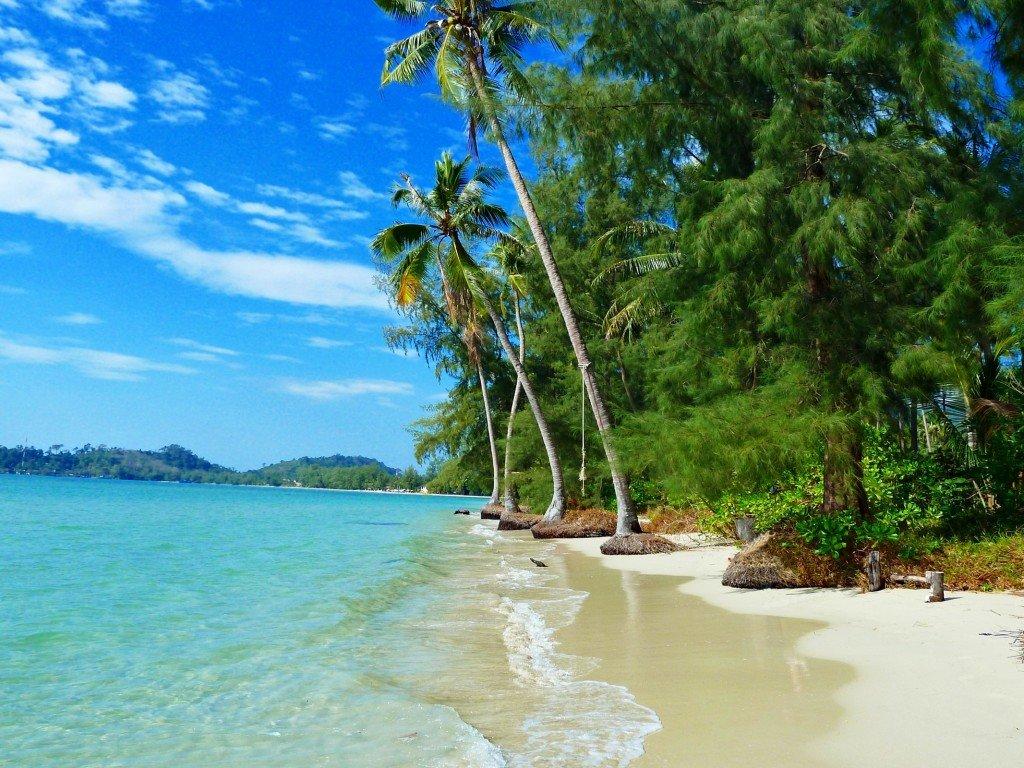 природа пляж клонг прао