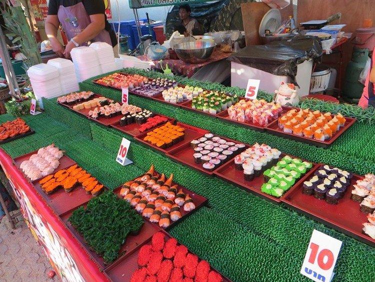 рынок суши