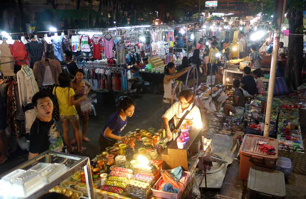 рынок ночной