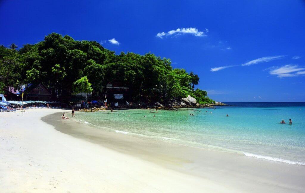 солнечные пляжи пхукета