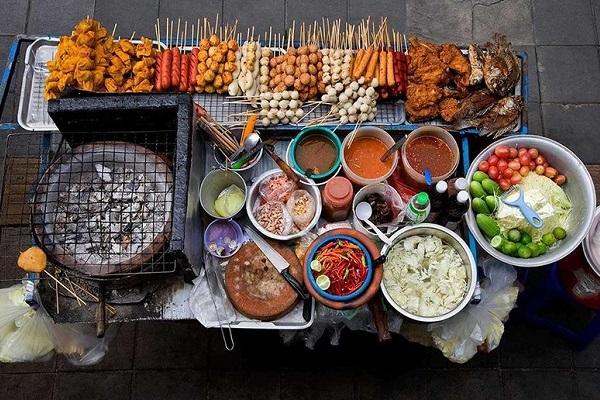 уличная еда Тайланд