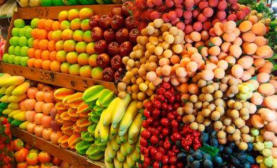ассортимент плодов