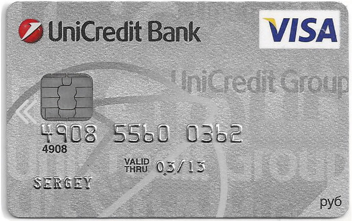 банковская карта в Тайланде