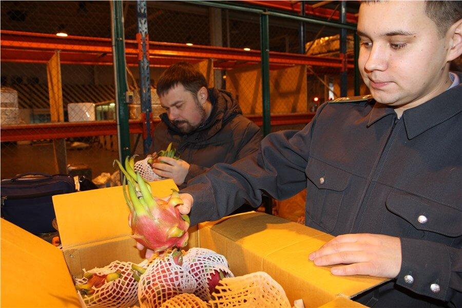 изъятие фруктов
