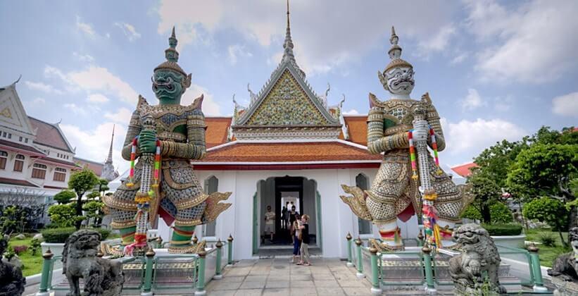 стражи храма