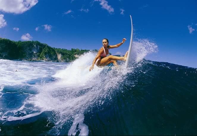 Сёрфинг в Тайланде