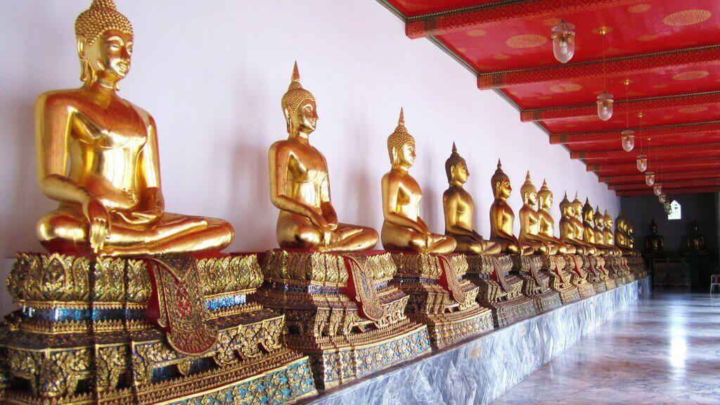 коридор храма